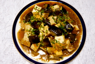 マーボーナス 豆腐